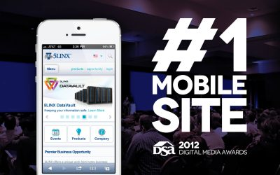 Arca Interactive Designs #1 Mobile Site at DSA Awards