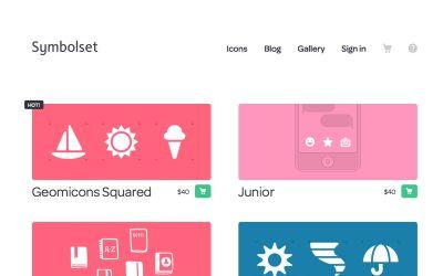 Web Design Symbol & Social Icon Fonts