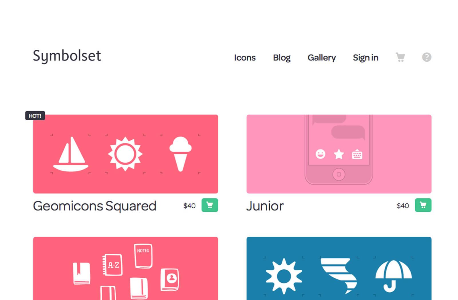 premium icon sets from symbol set