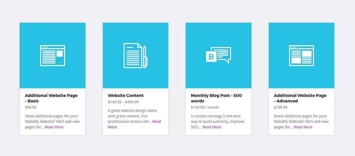 Webdify Add-ons