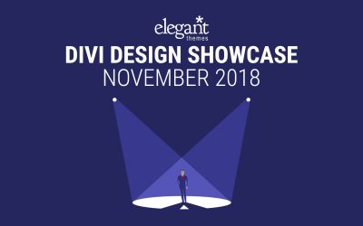 Our Work Featured in Divi Design Showcase