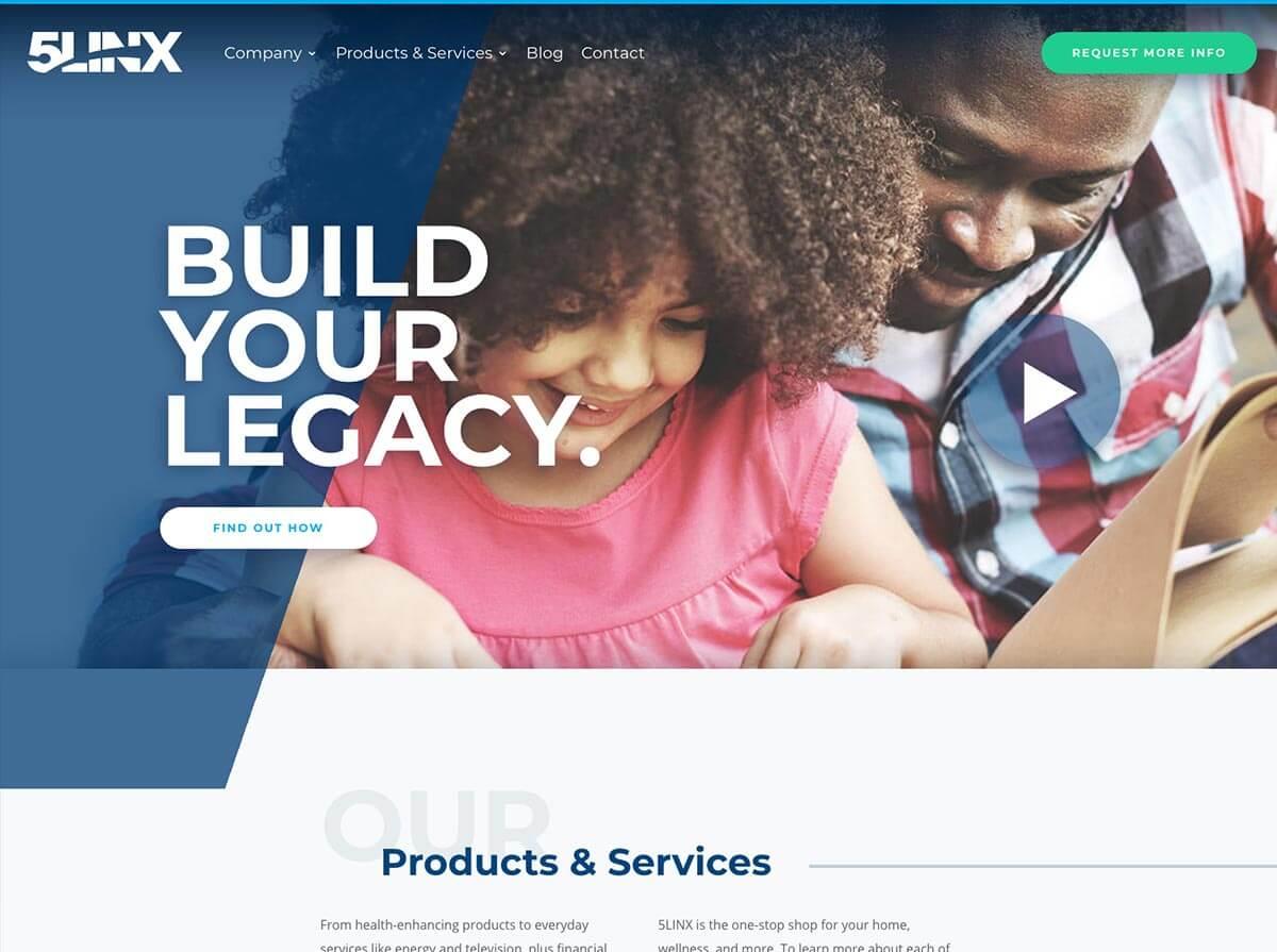 5linx Website Design
