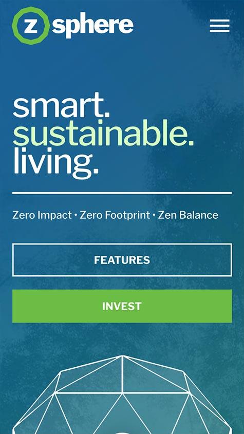 ZSphere Responsive Website Design