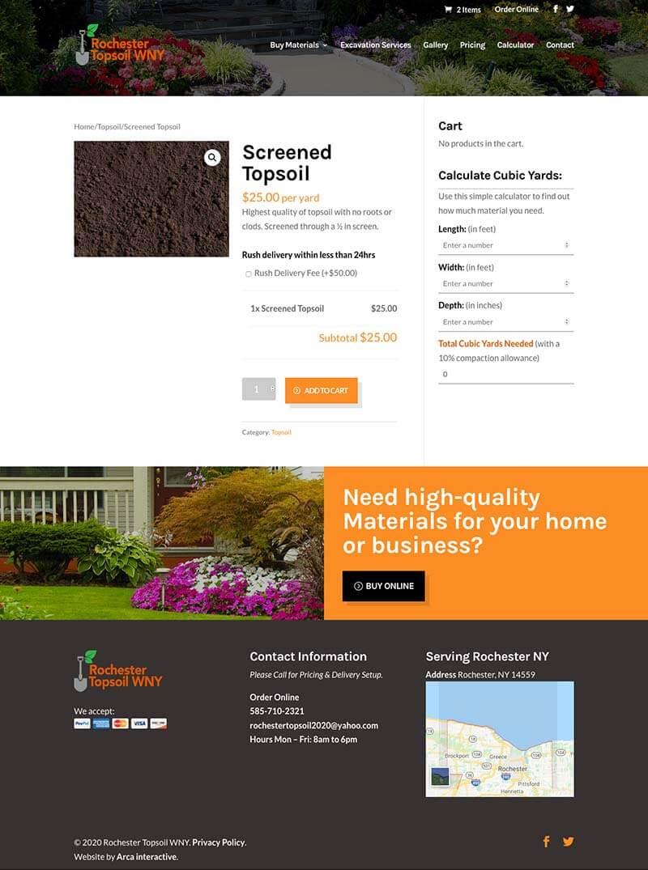 Roc Topsoil Web Development