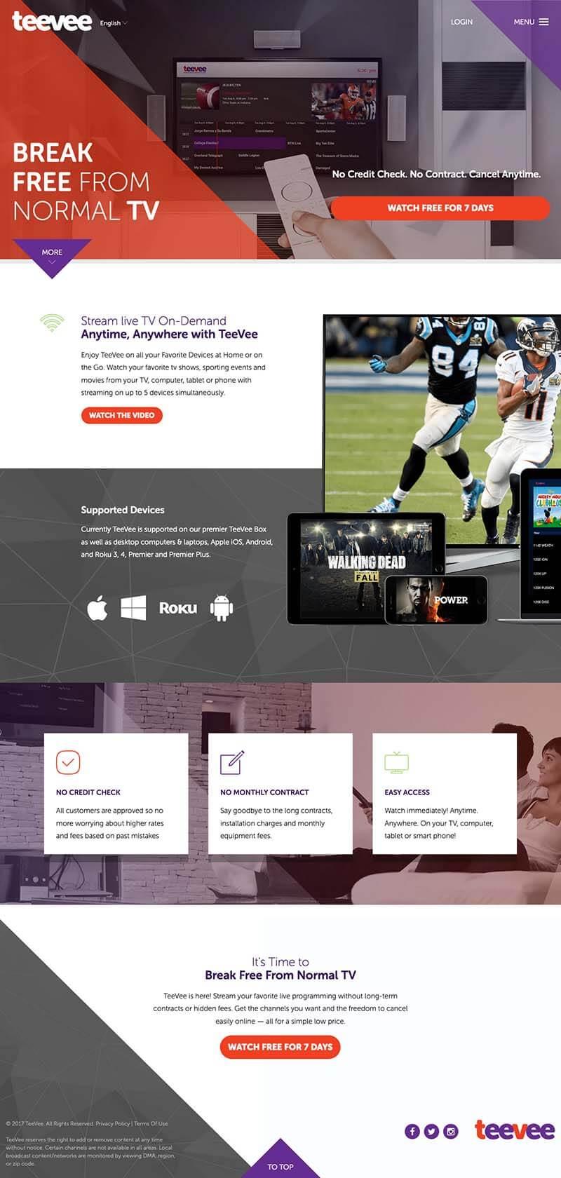 Teevee Web Design