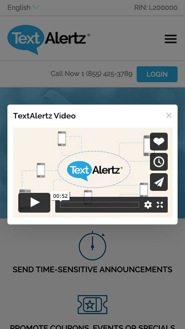 TextAlertz Mobile Marketing Video