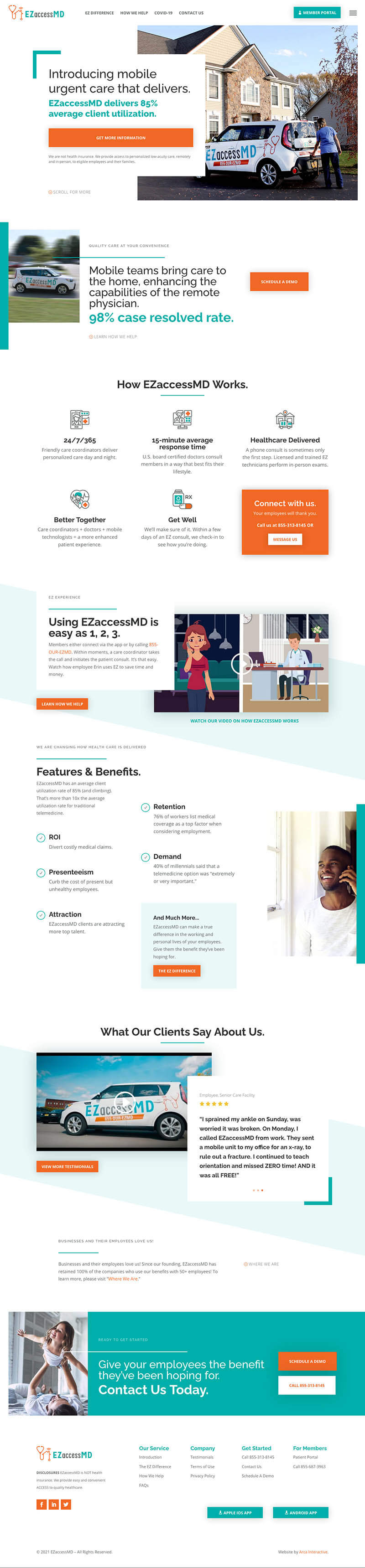 EZAMD Web Design