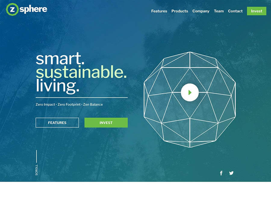 ZSphere-Website-Design