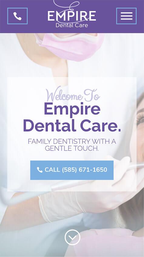 empire-dental-care-responsive-website-design